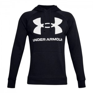 Bluza kangurka UNDER ARMOUR 1357093-001 CZARNY
