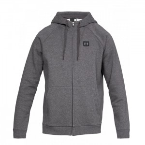 Bluza zapinana z kapturem UNDER ARMOUR 1320737 020 SZARY Hoody